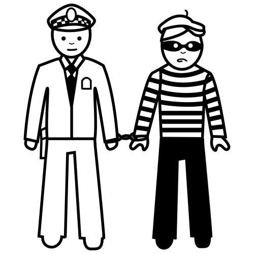Ladron Detenido