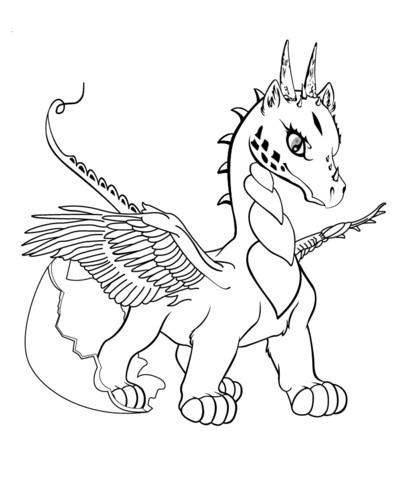 Dragones Para Colorear 🥇 𝐃𝐢𝐛𝐮𝐣𝐨𝐬 𝐩𝐚𝐫𝐚 𝐢𝐦𝐩𝐫𝐢𝐦𝐢𝐫