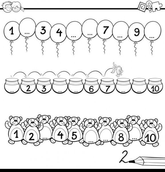 Dibujo Para Colorear De Matemáticas
