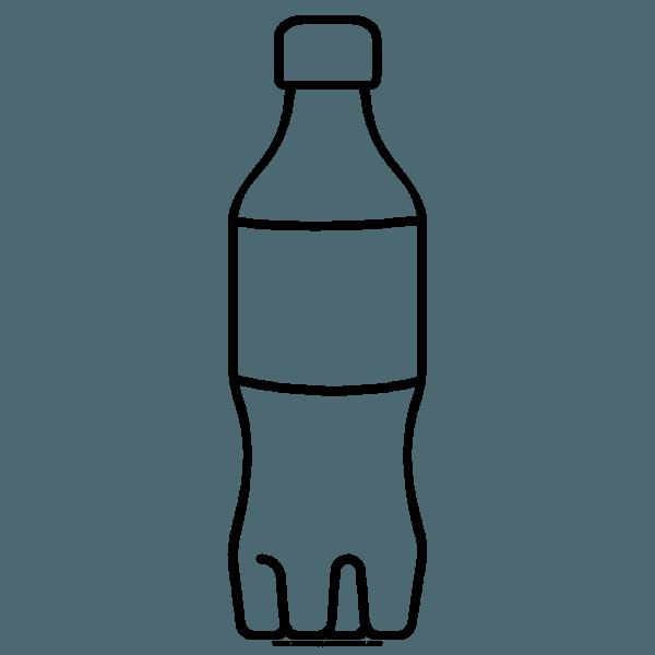 Dibujo De Botella De Agua 】» Como Dibujar Una Botella