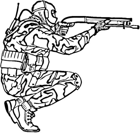 ▷ Dibujos Militares