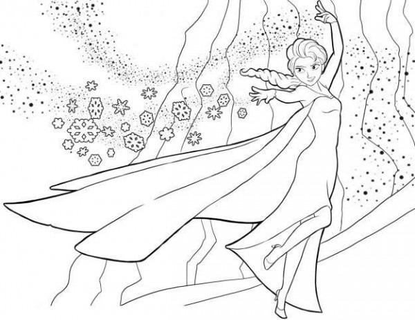 Dibujos De Frozen  Fotos Diseños Para Colorear (foto)