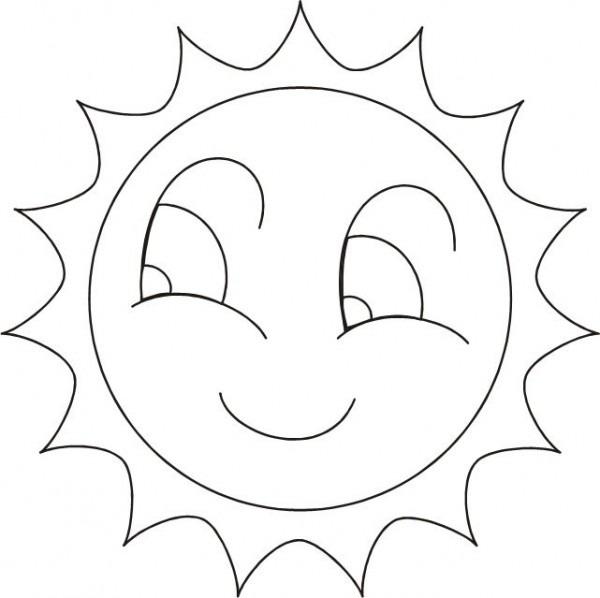 Dibujos De Sol Para Colorear