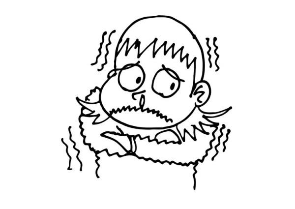 Dibujo Para Colorear Frío