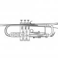 Dibujos Para Colorear Trompeta