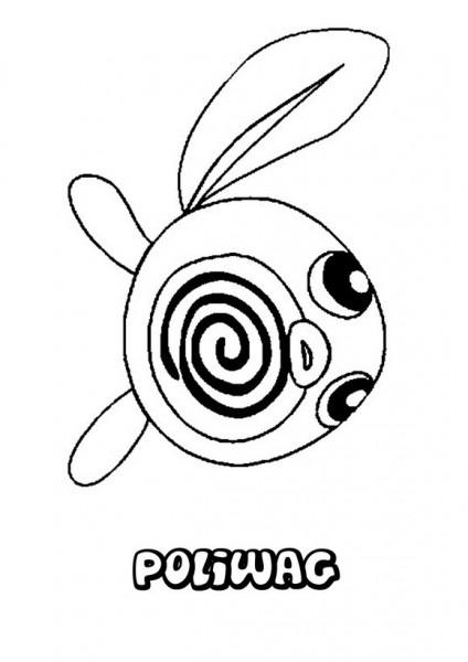 Dibujos Para Colorear Pokemon Poliwag