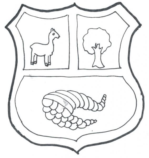 Cuentosdedoncoco Com  Dibujo Del Escudo Nacional Del PerÚ Para