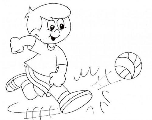Imágenes Para Pintar De Futbol Para El Día Del Futbolista El 14 De