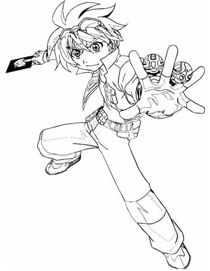 Dibujos De Bakugan