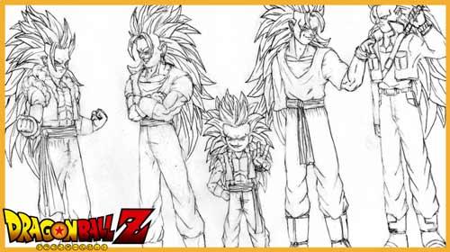 Dibujos Para Colorear De Dragon Ball Z Fusiones – Dragon Ball Super