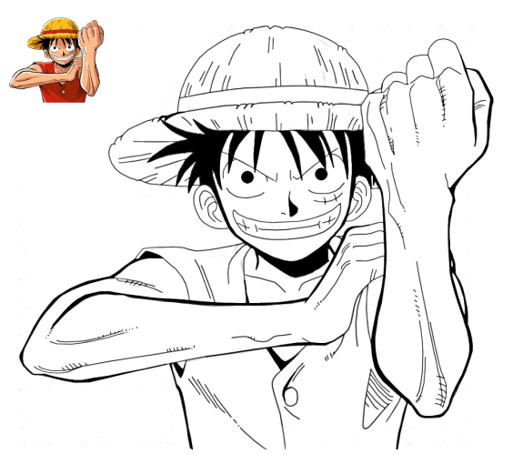 Dibujos Para Colorear De One Piece  Dibujoswiki Com