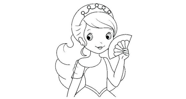 Dibujos De Princesas De Disney Para Colorear E Imprimir