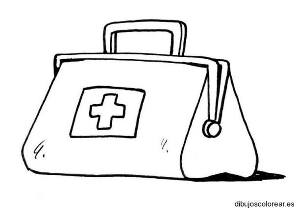 Dibujo De Un Maletín De Médico