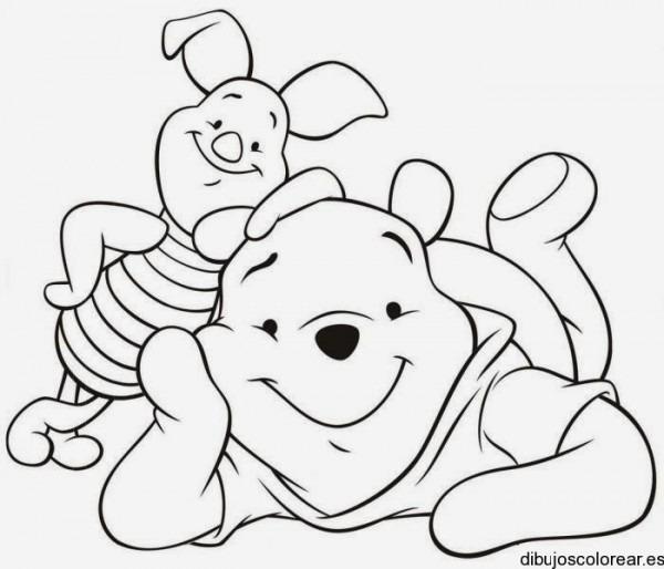 Dibujos Para Colorear  Maestra De Infantil Y Primaria   Winnie The
