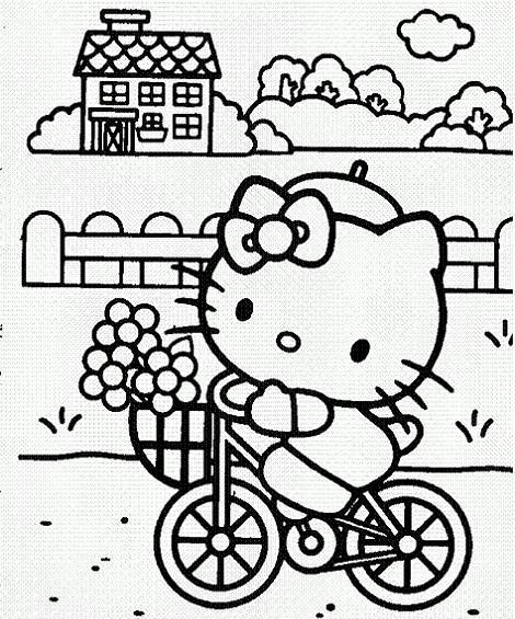 Dibujos Para Colorear Kitty – Hello Kitty En Mundokitty Com