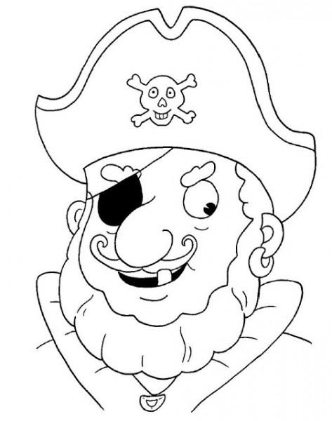 Maestra De Infantil  Piratas  Dibujos Para Colorear  Caretas, Gifs