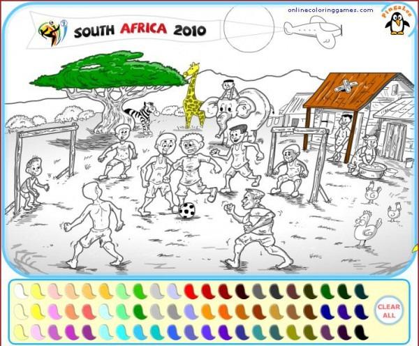 Dibujos Para Pintar En El Ordenador De Fútbol