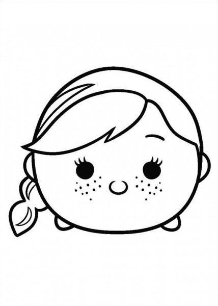 Tsum Tsum Para Colorear, Pintar E Imprimir