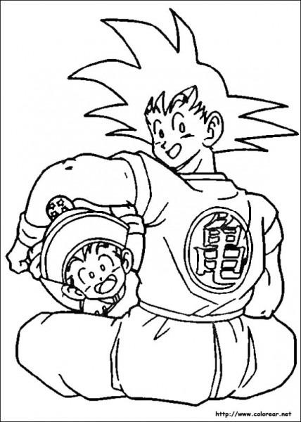 Dibujos De Dragon Ball Z Para Colorear En Colorear Net