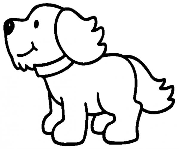 Cachorro  14 (animales) – Páginas Para Colorear