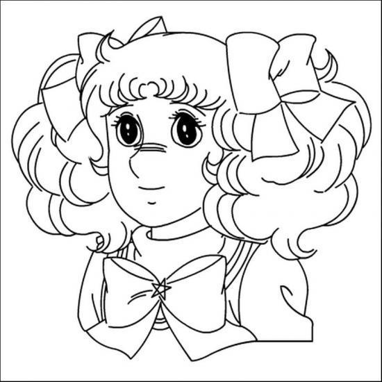 Candy Candy  19 (dibujos Animados) – Páginas Para Colorear