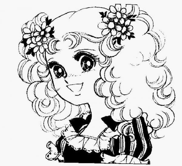 Candy Candy  30 (dibujos Animados) – Páginas Para Colorear