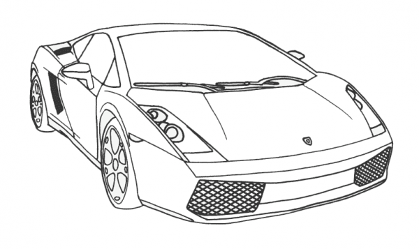 Cars  4 (transporte) – Páginas Para Colorear