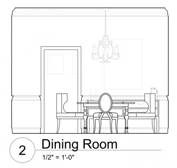 Comedor  14 (edificios Y Arquitectura) – Páginas Para Colorear