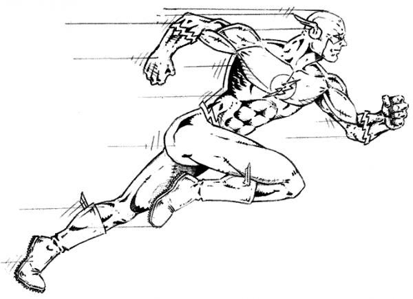 Dc Comics Super Heroes  61 (superhéroes) – Páginas Para Colorear