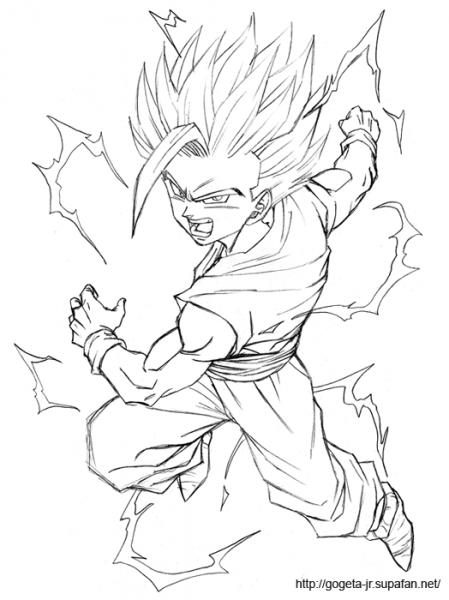 Dragon Ball Z  92 (dibujos Animados) – Páginas Para Colorear