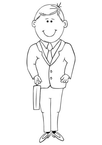 Papá  151 (personajes) – Páginas Para Colorear