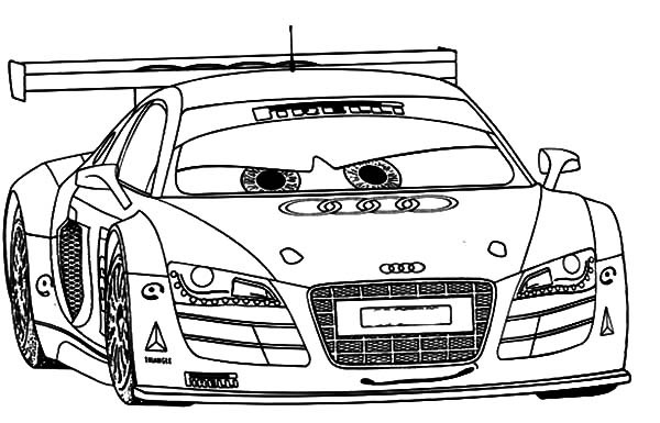 Sports Car   Tuning  145 (transporte) – Páginas Para Colorear