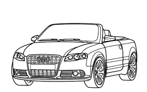Sports Car   Tuning  96 (transporte) – Páginas Para Colorear