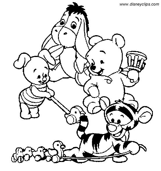 Winnie The Pooh  193 (películas De Animación) – Páginas Para Colorear