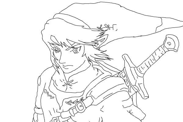 Zelda  43 (videojuegos) – Páginas Para Colorear