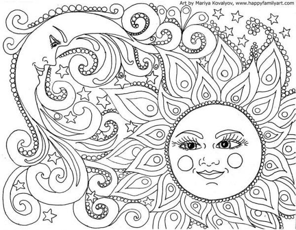 Resultado De Imagen De Dibujos Hippies Psicodelicos Blanco Y Negro