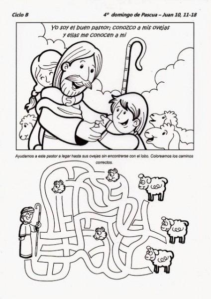 La Catequesis  Recursos Catequesis Cuarto Domingo De Pascua  El