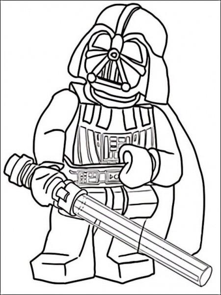 Dibujos Para Imprimir Y Pintar Para Niños Lego Star Wars 12