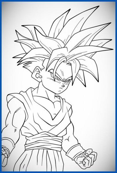 Resultado De Imagen Para Dragon Ball Para Colorear