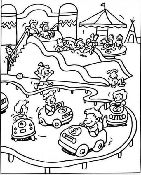 Los Niños Y La Feria