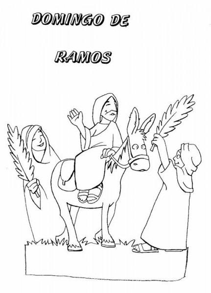 Pinto Dibujos  Dibujos De Semana Santa Para Colorear