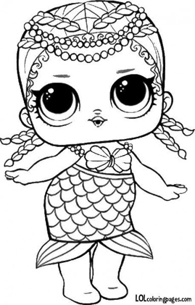 Coloring Pages With Lol Dolls