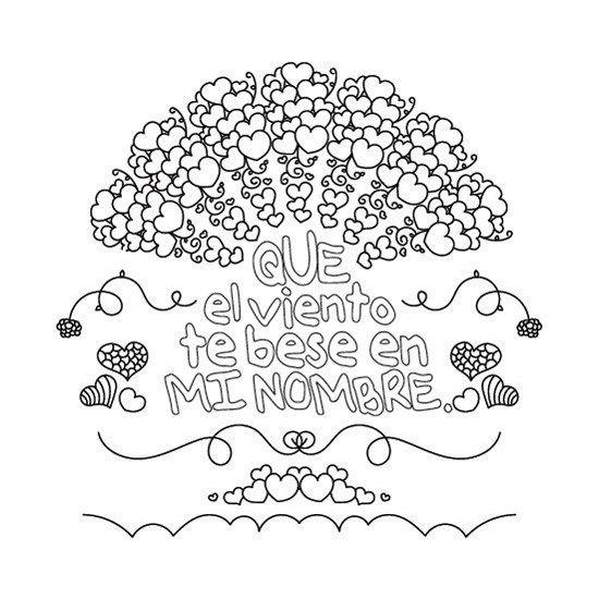 Mandalas Con Frases Y Corazones Para Imprimir Pdf Gratis