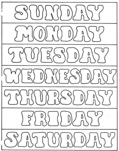ᐈ Los Días Dela Semana En Inglés 🥇 【 Mejor Lista Completa 】
