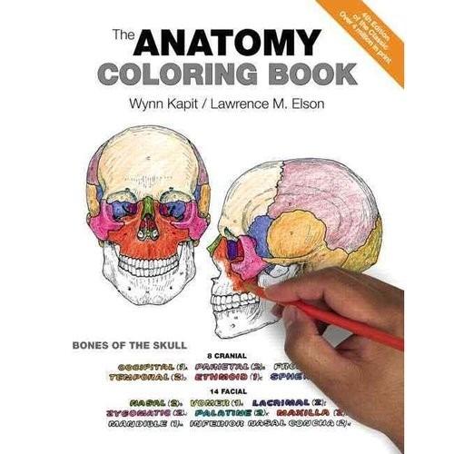 El Libro De Anatomía Para Colorear
