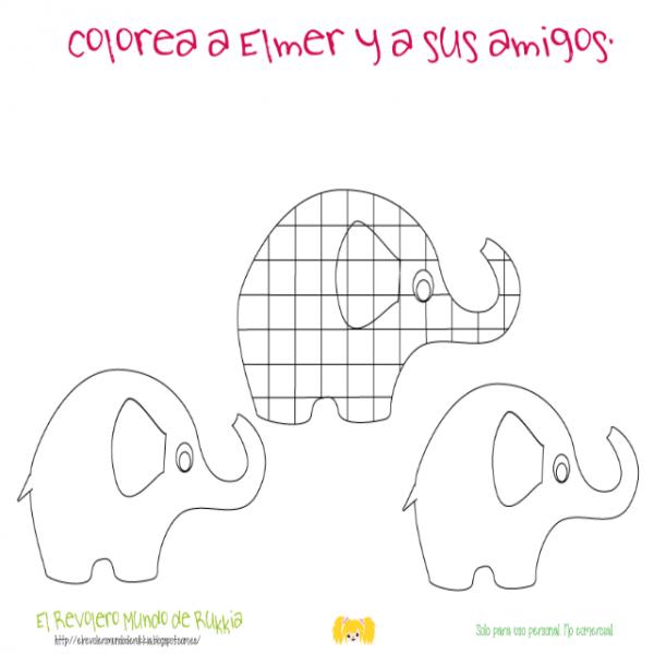 Cuaderno De Actividades  Elmer