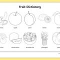Verduras En Ingles Para Colorear