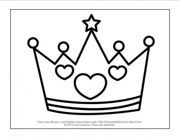 10 Dibujos De Princesas Para Imprimir Y Colorear