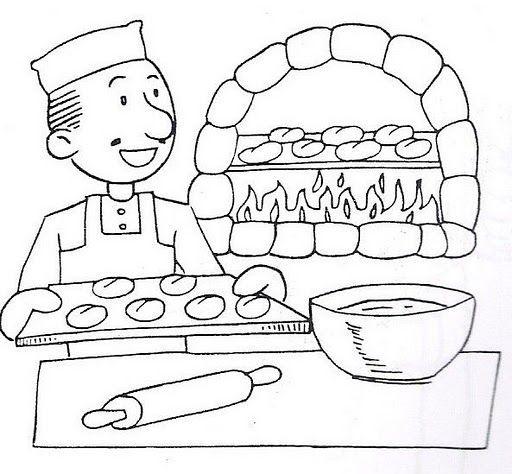 Dibujos Infantiles Para Colorear De Oficios Y Profesiones