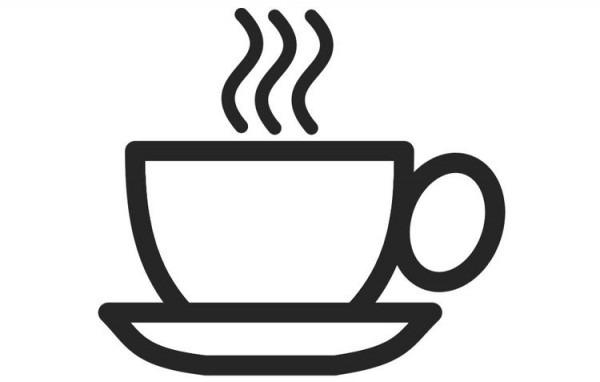 Dibujo Para Colorear Taza De Café